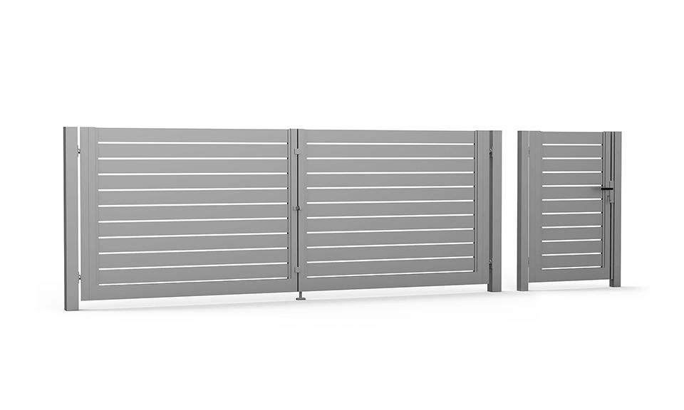 Brama skrzydłowa i furtka Supreme MKII