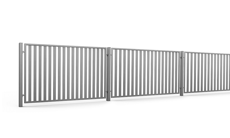 Ogrodzenie Palisadowe Posesyjne Vertical
