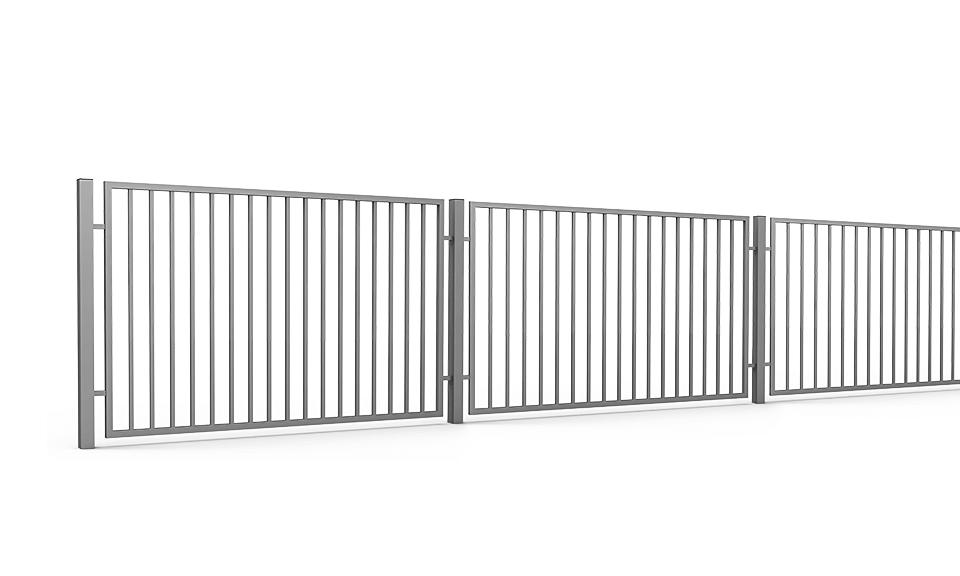 Ogrodzenie Palisadowe Przemysłowe Security